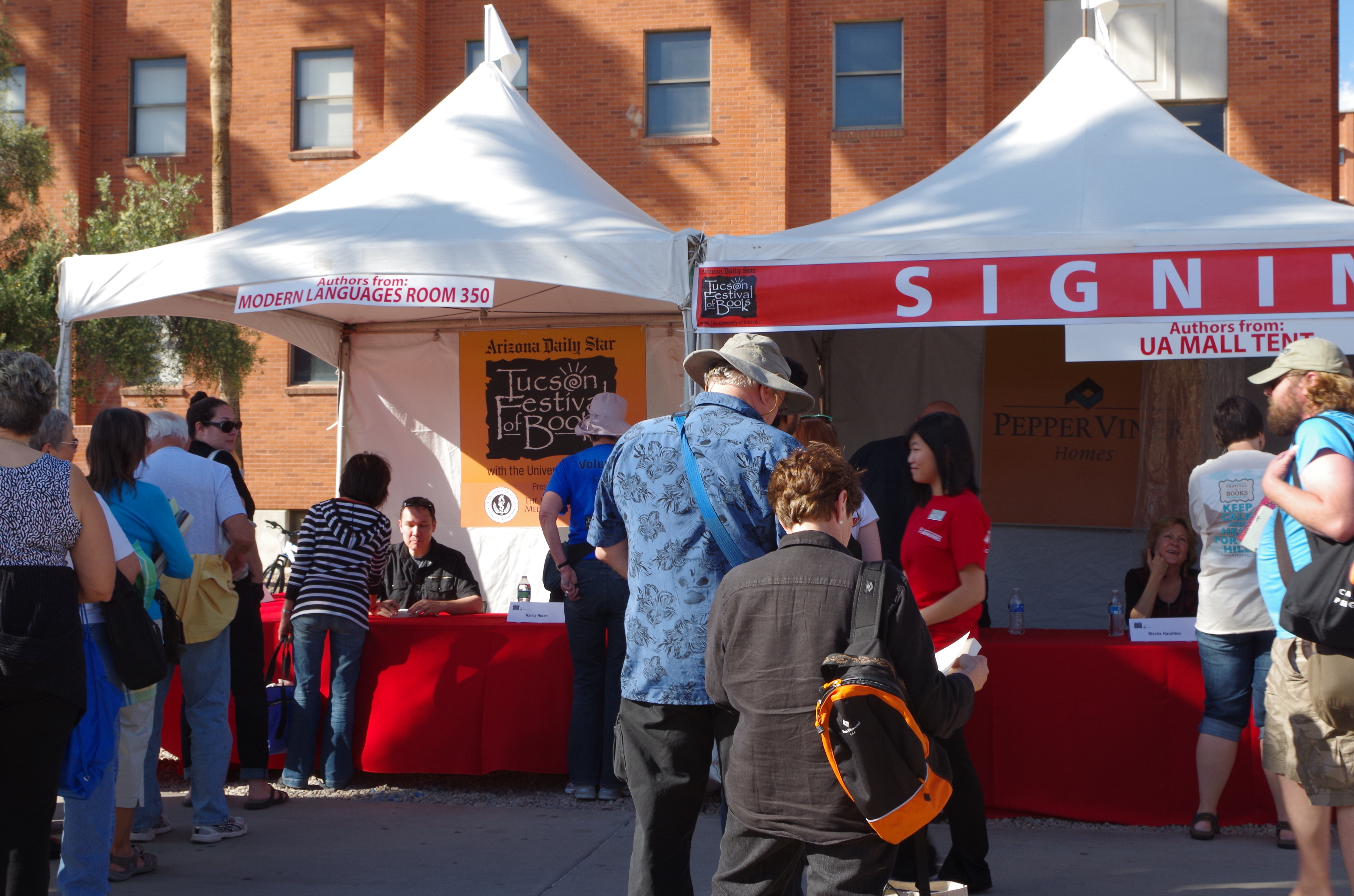 TFOB signing areas