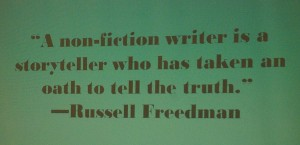 nonfiction quote