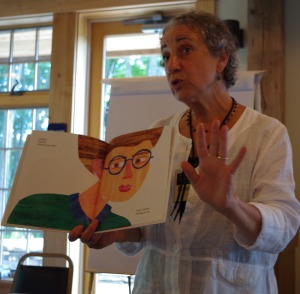 Rosemary Agoglia of the Eric Carle Museum of Picture Book Art